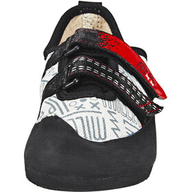 Millet Easy Up Chaussons d'escalade Enfant, grey/red